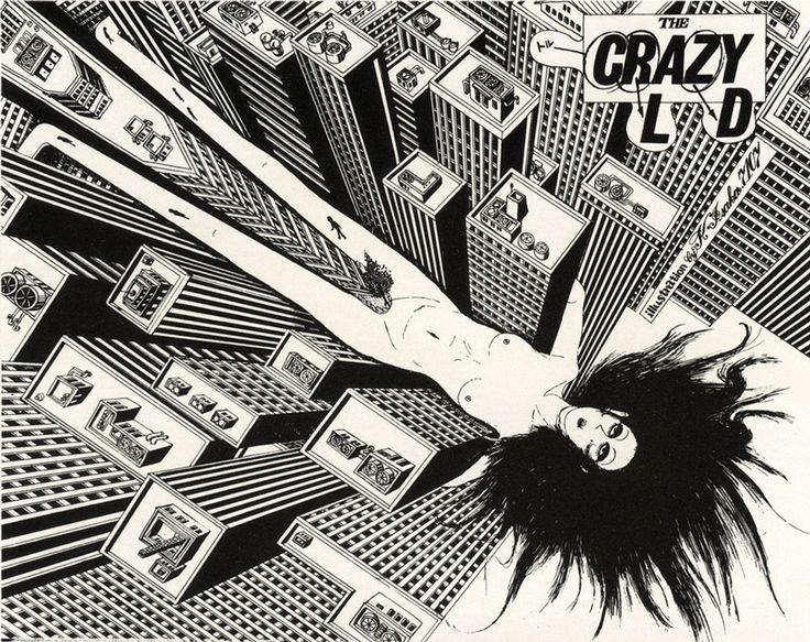 Katsuji Isaka, early 70s: Art Rel, Katsuji Isaka, Ears 70S, 50 Watts, Spaces Teriyaki, Cities Street, Crazy Artists, Illustrations Design, Design Stories