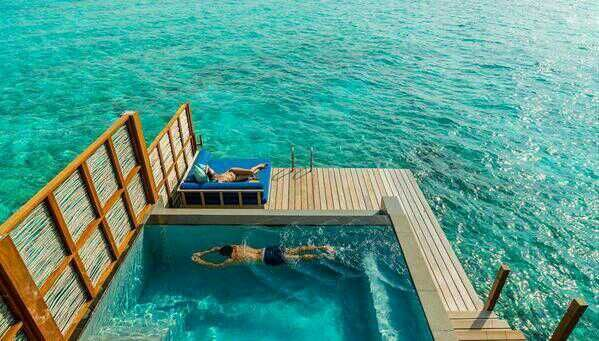 pool on the ocean