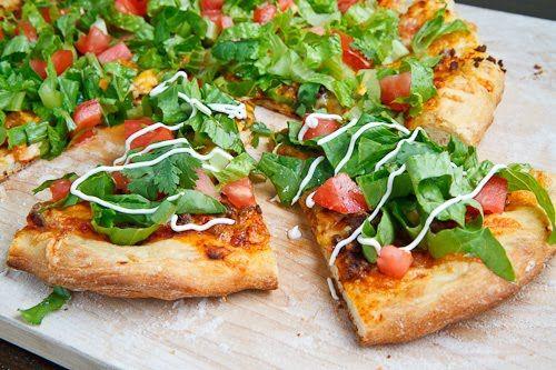 taco pizza: Tacos Pizza Yummy, Food Group, Taco Pizza, Food Ideas, Pizza Ideas, Mexicans Pizza, Homemade Pizza Recipes, Favorite Recipes, Favorite Food