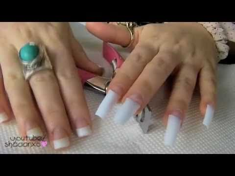 Acrylic Nails A Step By Step Guide To Do It Yourself Acrylic Nails At Home Diy Acrylic Nails Nails At Home