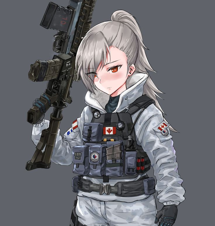 86 best Anime Soldiers images on Pinterest | Anime girls ...