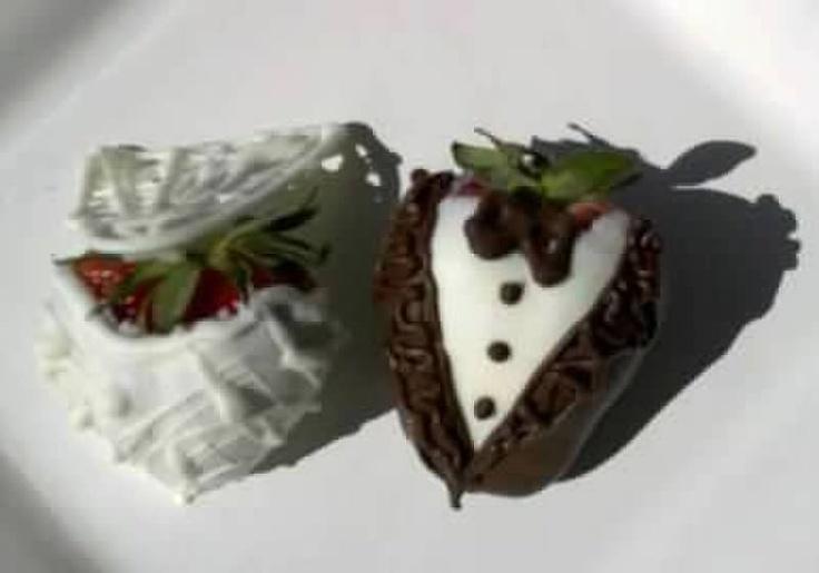 Bridal Shower Strawberries