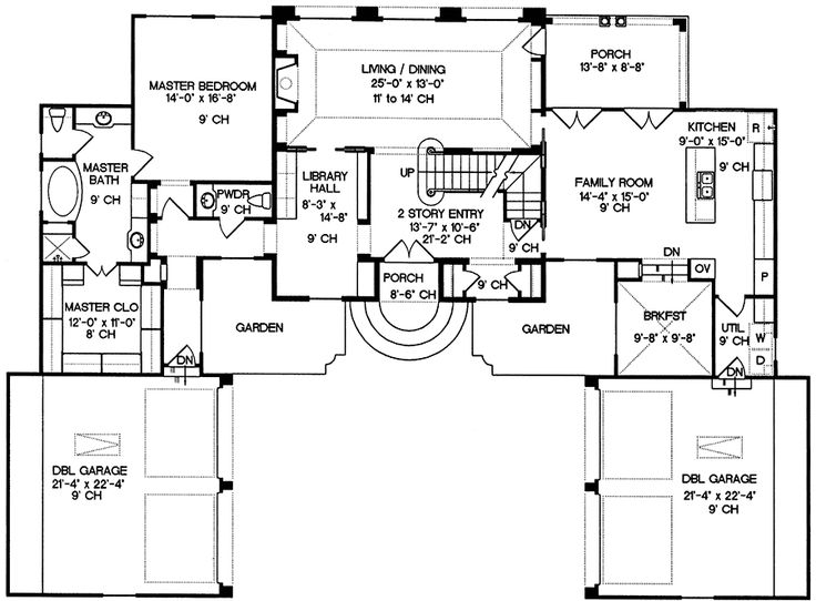 Plan 40855db  Living In Style