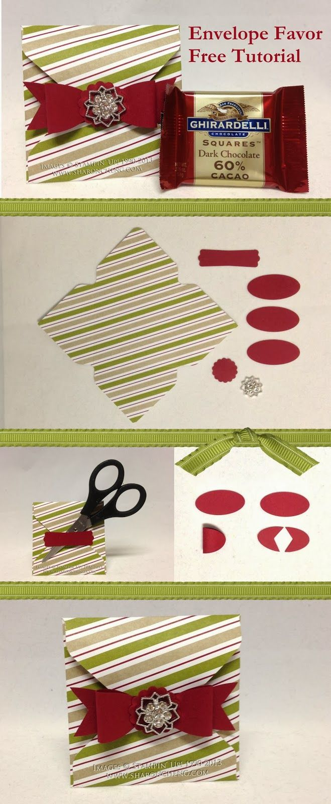 Envelope Favor with Free Tutorial