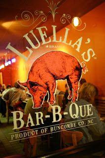 Luella's Bar-B-Que in Asheville, North Carolina