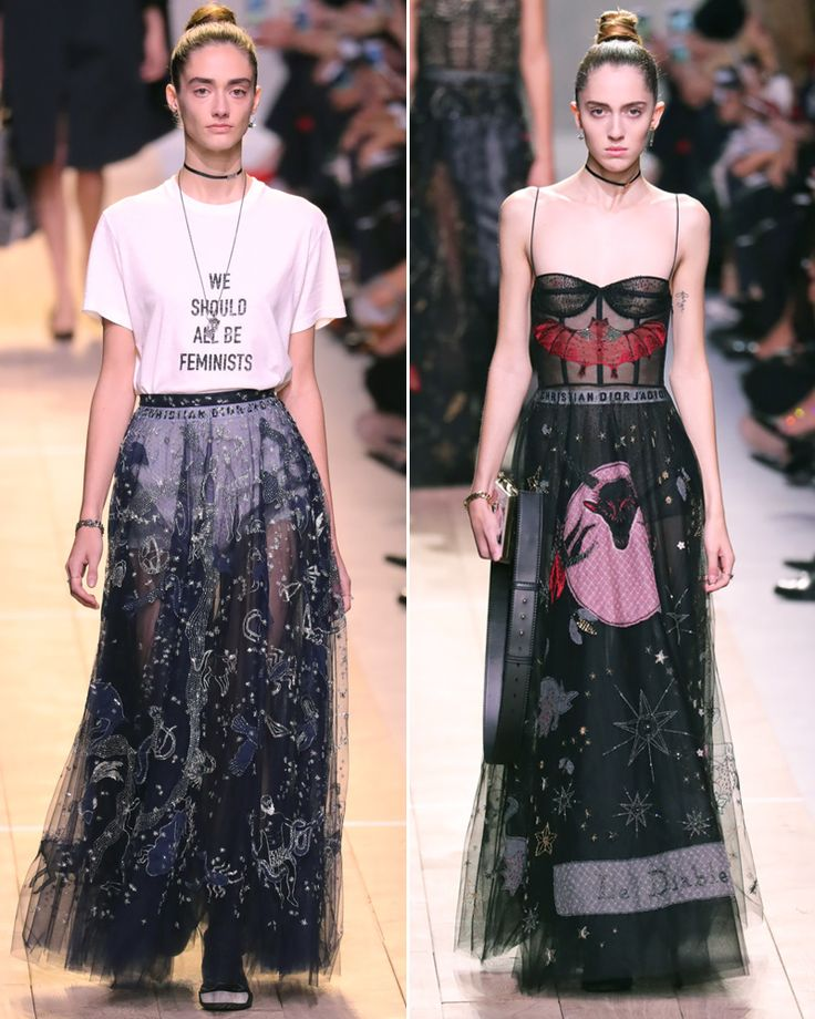 Read InStyle Fashion News Director Eric Wilson's review on Maria Grazia Chiuri's spring 2017 debut for Dior at Paris Fashion Week.