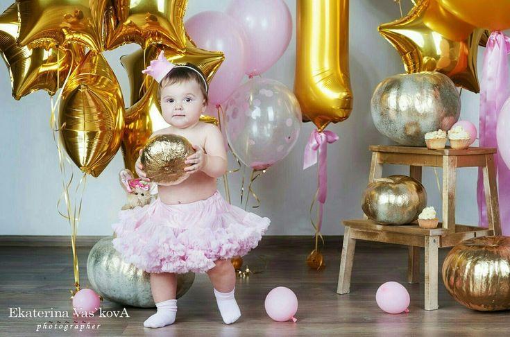 Первый День рождения маленькой Золушки! Сделано у нас! Фотограф Екатерина Васькова