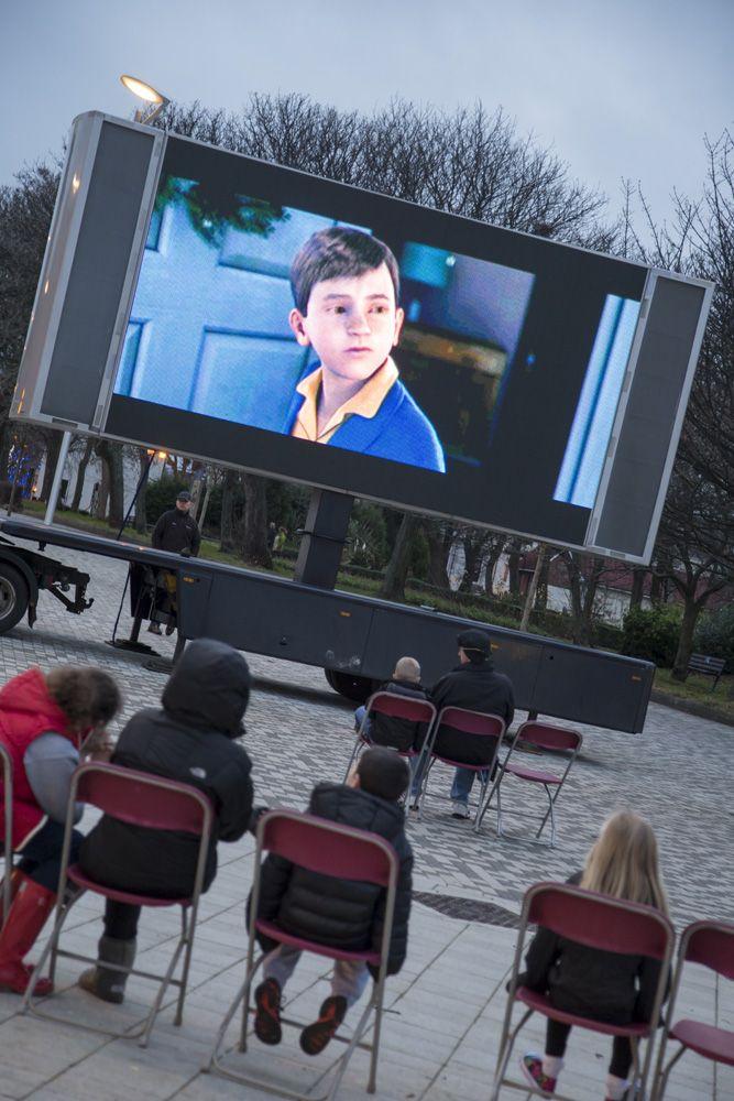 Winter Wonderland Outdoor Cinema