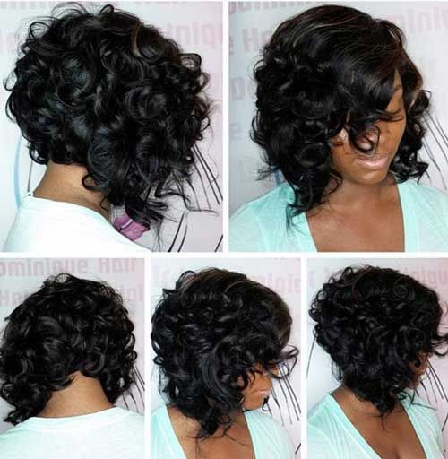 Chic and Cute Curly Bob Hairstyles