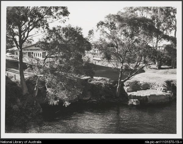 Bell, Brendan. Nowra Fishermen's Co-operative on the Shoalhaven River [picture]