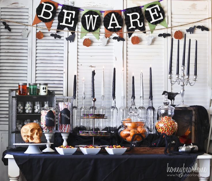 106 best Halloween party ideas images on Pinterest Costumes, Male - halloween party decorations diy
