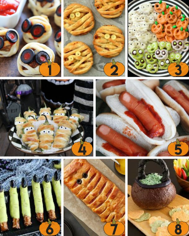 40 Best Halloween Party Finger Foods & Appetizers Party