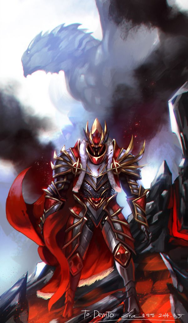 #Dota2 Davion the Dragon Knight,Dota,фэндомы,песочница