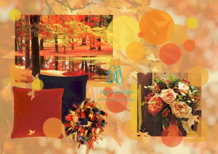 ISPIRAZIONE D' #AUTUNNO I #tonicaldi dell'autunno possono rendere la #casa molto suggestiva e accogliente.