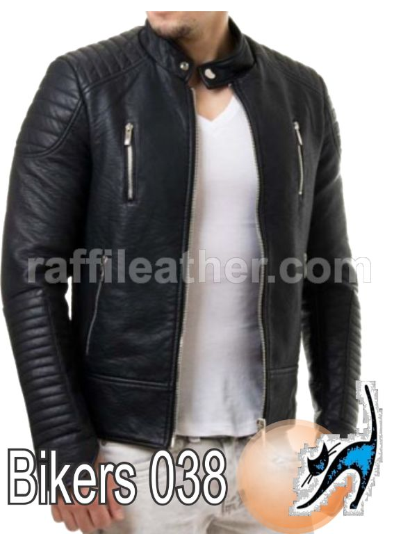 Jaket Kulit Bikers/Motor » Jaket Kulit Bikers 038 • www.raffileather.com Jual Jaket Kulit Asli Garut Murah & Berkualitas #jaketkulit