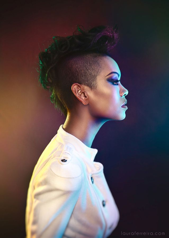 """Anya Ayoung-Chee , Project Runway winner"" by Laura Ferreira, via 500px."