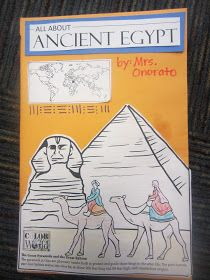 O The Places You'll Go!: Ancient Egypt Foldable Books