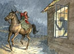 Women of the American Revolution~ Paul Revere known for his ride but not Sybil Ludington. How about the female Paul Revere? That's what Sybil Ludington is known as. Sybil's ride was twice as far as Paul's.