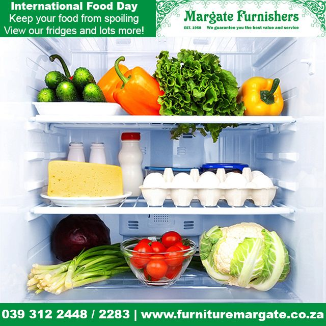 It's International Food Day at Margate Furnisher. View our wide range of fridges #WFD2015 http://bit.ly/1KQbHyh