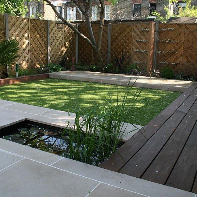 Маленький внутренний дворик #сад #дом #prosad #настил #декор #ландшафтныйдизайн #озеленение #благоустройство #газон