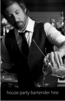 Hire a cocktail bartender in Bristol www.hireabarman.com