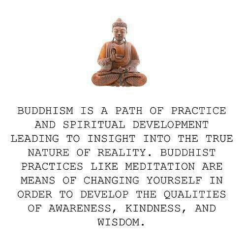 Buddhism is a religion that focuses on oneself. Religion should be for the benefit of your own life, not something to be forced on others.