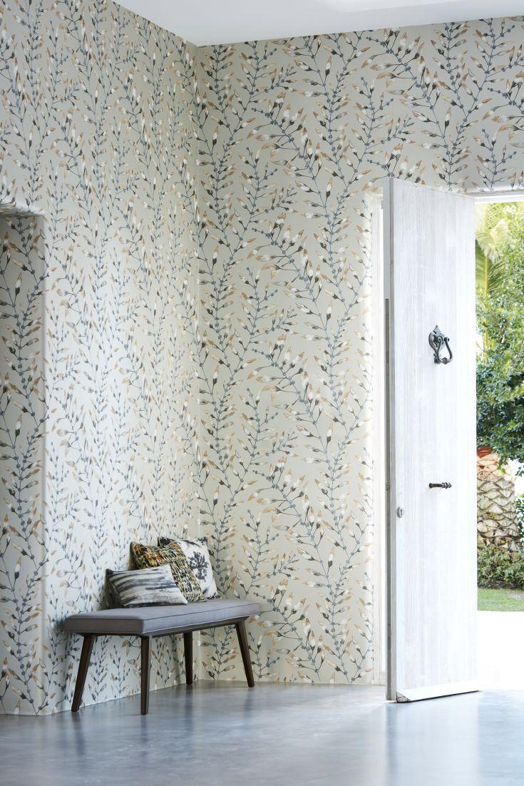 Neutral hallway wallpaper design in a watercolour effect. 67 best Hallway wallpaper ideas images on Pinterest
