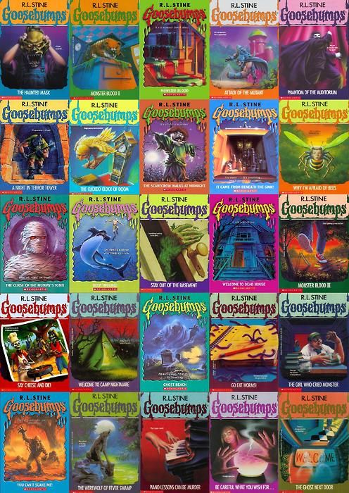 If you were born in the 90s you have read at least one of these. I Love Goosebumps!!!