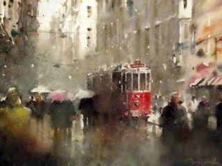 Orhan Gurel / Turkey / painting / watercolor / Orhan Gürel