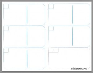 Click here for the single page (foldable) planner