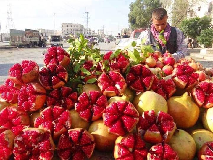IRAN- pomegranates?