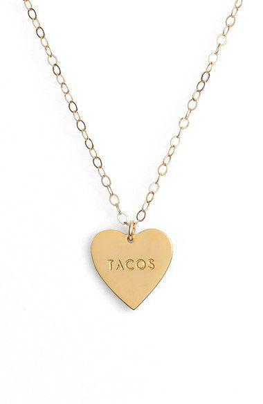 Seoul Little Taco Necklace