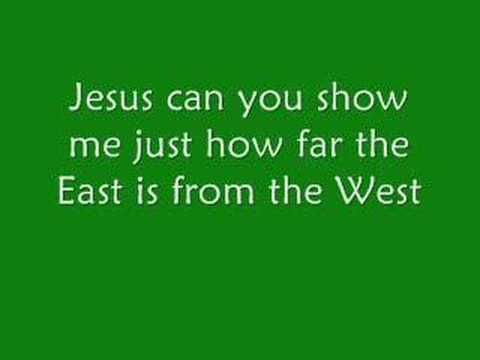 Music Video  Casting Crowns - East to West (with Lyrics)