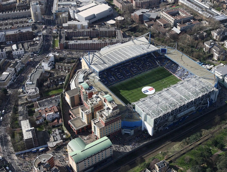 Stamford Bridge Stadium - Chelsea FC - London, England