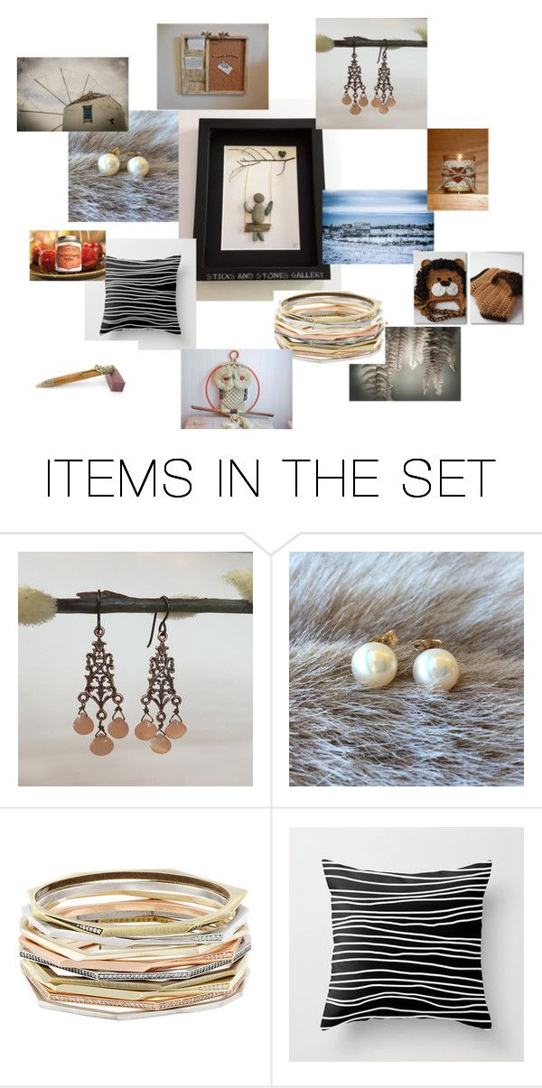 """""""Finders Keepers"""" by sticksandstonesgallery ❤ liked on Polyvore featuring art"""