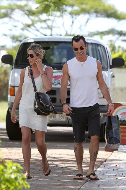 Celeb Diary: Jennifer Aniston & Justin Theroux