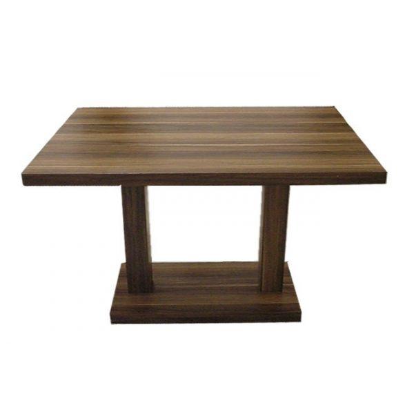 Tavolino quadrato Giove 2G robusti ed eleganti in legno nobilitato melaminico, colori uni (bianco, nero, rosso, ecc.) o legno venato ( wengè, ciliegia, mahogani, ecc.),  per bar, pizzerie, pub, club,ristoranti, hotel, albergo al miglior rapporto prezzo – qualità. I nostri tavoli Giove 2G in nobilitato melaminico sono di stile moderno e contemporaneo, caratterizzati da un design assolutamente originale. Il tuo tavolo per ogni ambiente al miglior prezzo. Dimensioni  120x80cm,130x80cm…