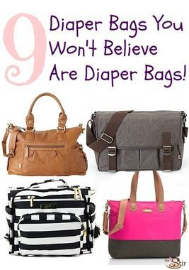The Stir-9 Stylish Diaper Bags That Don't Scream 'I'm a Diaper Bag!' (PHOTOS)
