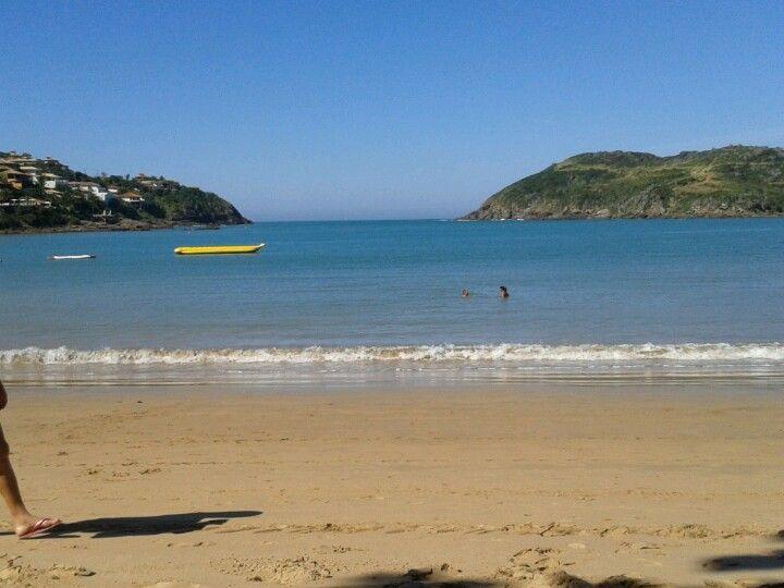 Praia da Ferradura en Búzios, RJ