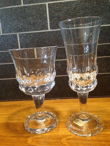 """Krystallglass """"Diamant"""" Hadeland Glassverk"""