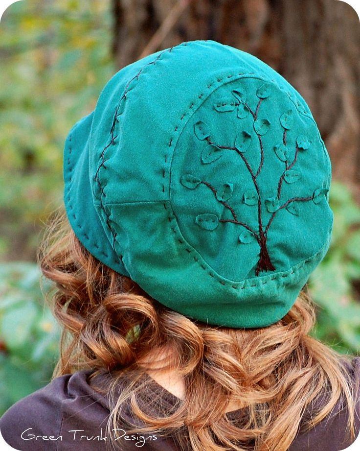 recycled T-shirt Slouch Hat