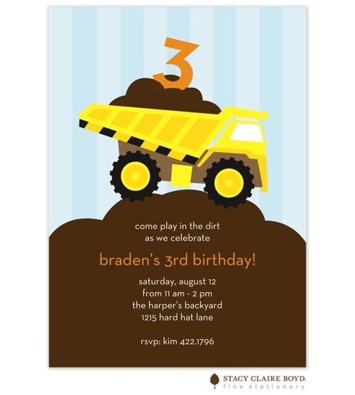 9 best construction party images on Pinterest Birthdays Birthday