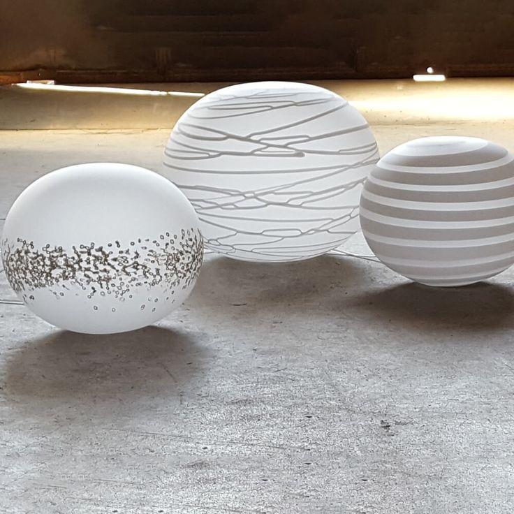 "BARBERINI_Globi, Lampada ""Spirale"" - Lampade In Vetro di Murano  | I Muranesi Shop Online"