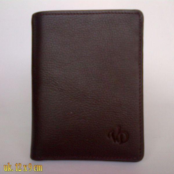 Dompet kulit asli pria L-3E Coklat
