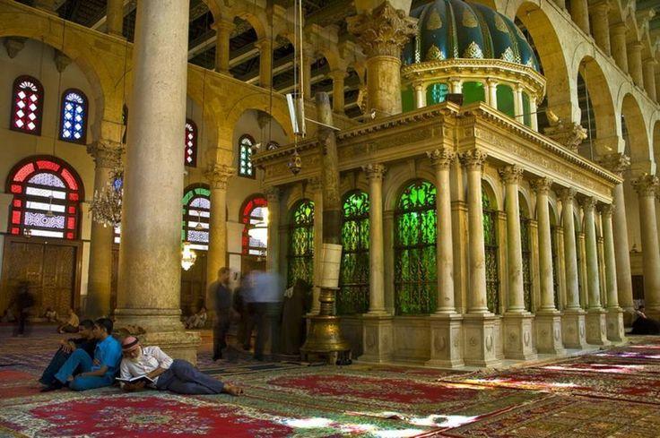 Sanctuarul Sfântului Ioan Botezătorul, Moscheea Umayyad, Damasc