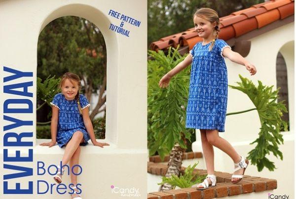 Craft Gossip - http://sewing.craftgossip.com/free-pattern-girls-everyday-boho-dress/2015/05/22/