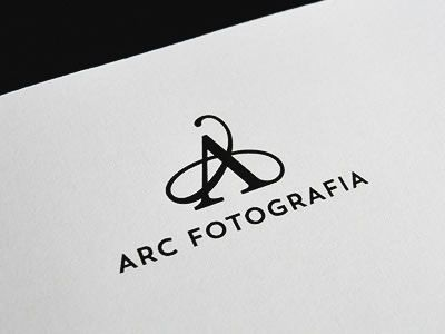 "this is a great logo with the use of the typography in the prodominent A above the name ""Arc Fotografia"". the ""A"" is beautifually abstract and very eye catching. the only thing is, this logo leaves me wondering/needing more detail on what this is specifically a logo for?"