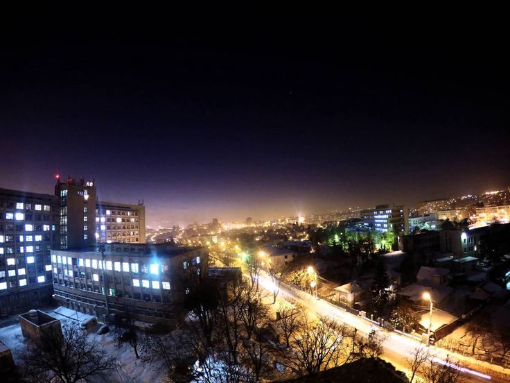 Iasi After Sunset (My first timelapse)