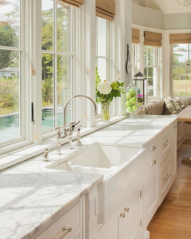 Rustic Farmhouse Kitchen White 697 best kitchen images on pinterest | dream kitchens, white