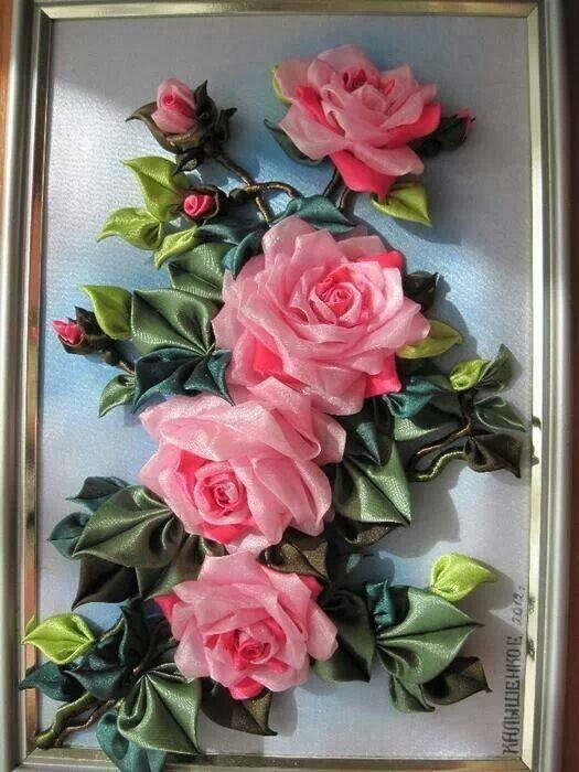 Cuadro de rosas